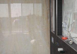 Natuursteen Wand Badkamer : Badkamer met onyx ivory wand de lange natuursteen