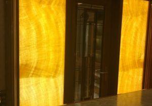 """Onyx Orange in de master suite van charter yacht """"Legend"""""""